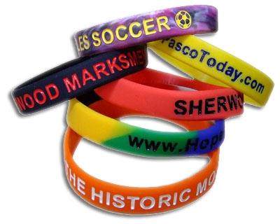 Bracelets Siliconen Armband Polsbandje